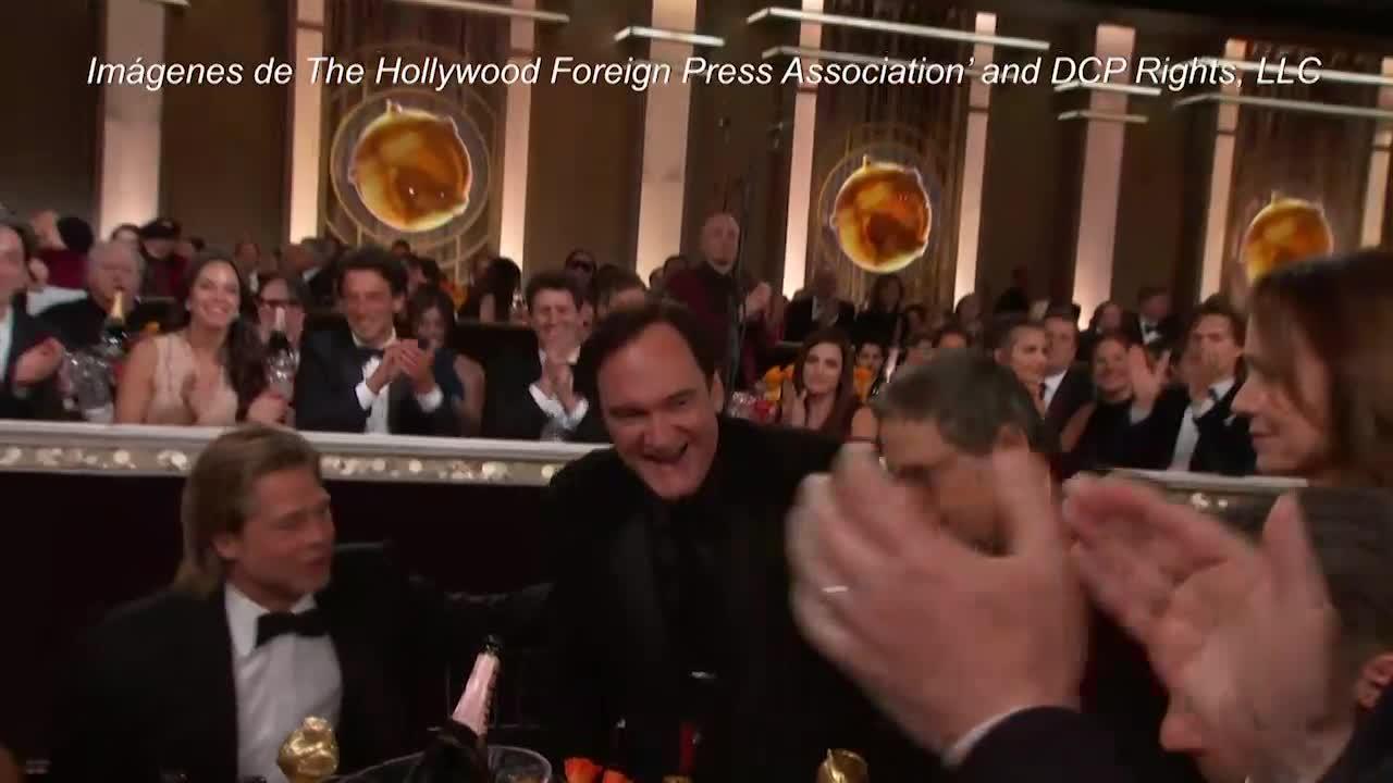 """""""1917"""" y """"Había una vez en Hollywood"""" brillaron en Globos de Oro"""