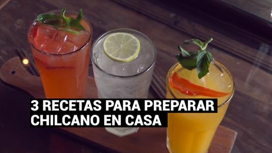 Semana del Chilcano: Tres recetas fáciles y rápidas a base de pisco