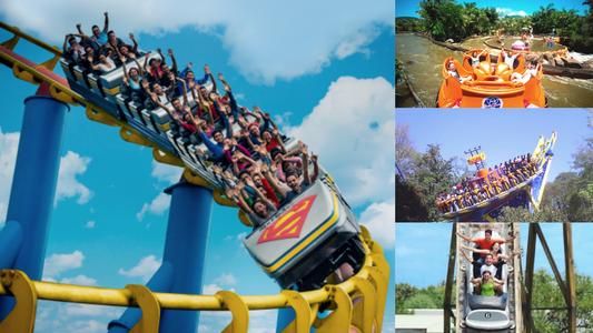 Cinco parques de diversiones en Latinoamérica para disfrutar en tus vacaciones