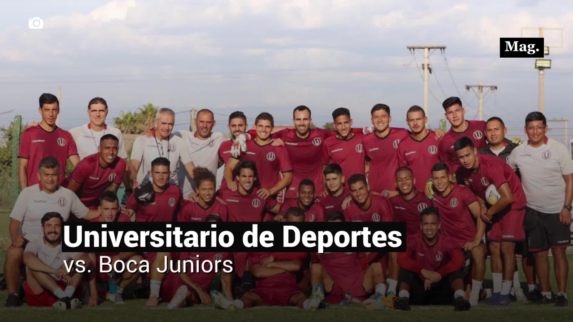 Universitario de Deportes se enfrenta a Boca Juniors después de 22 años