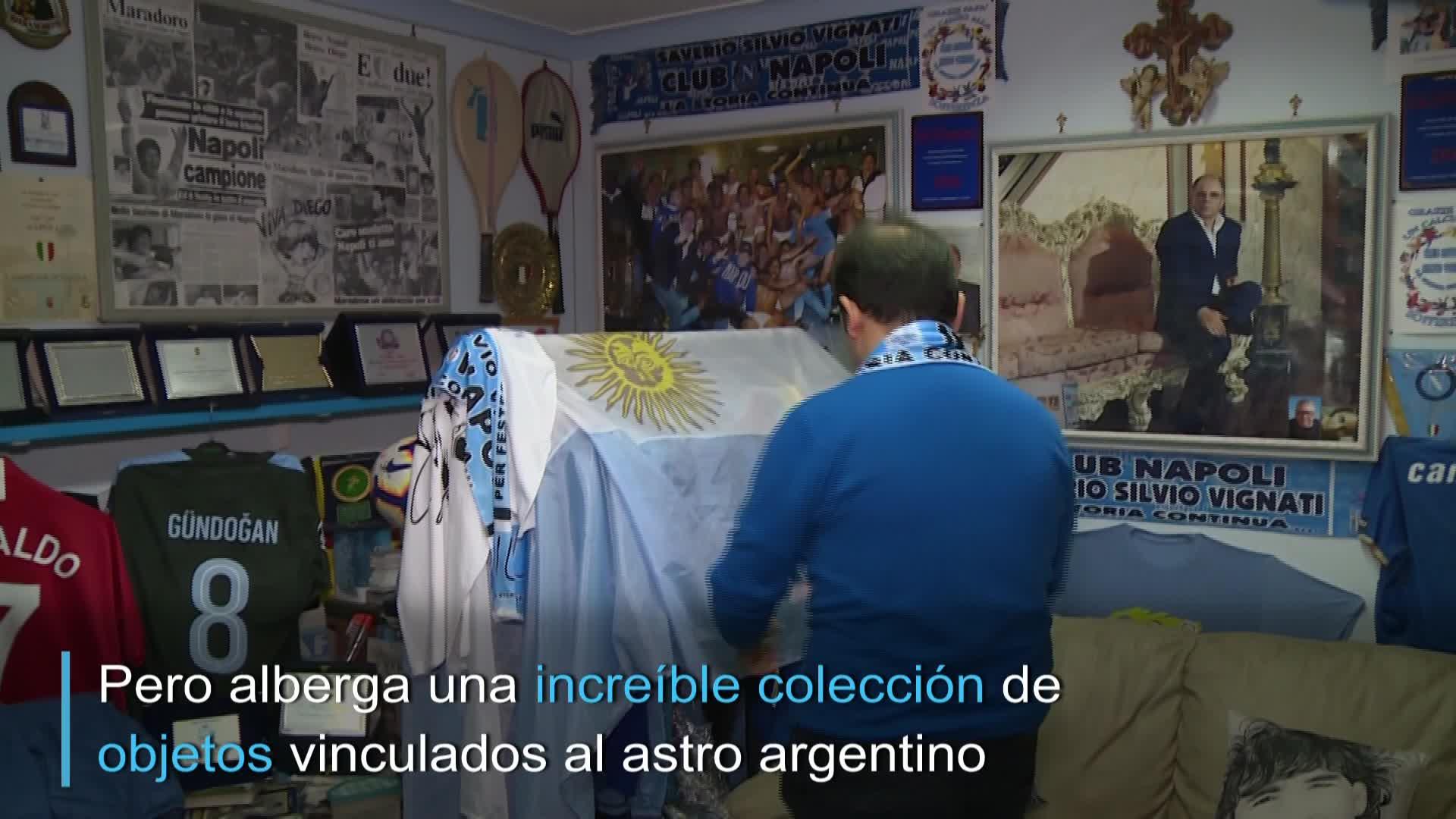 El museo secreto de Maradona en Nápoles