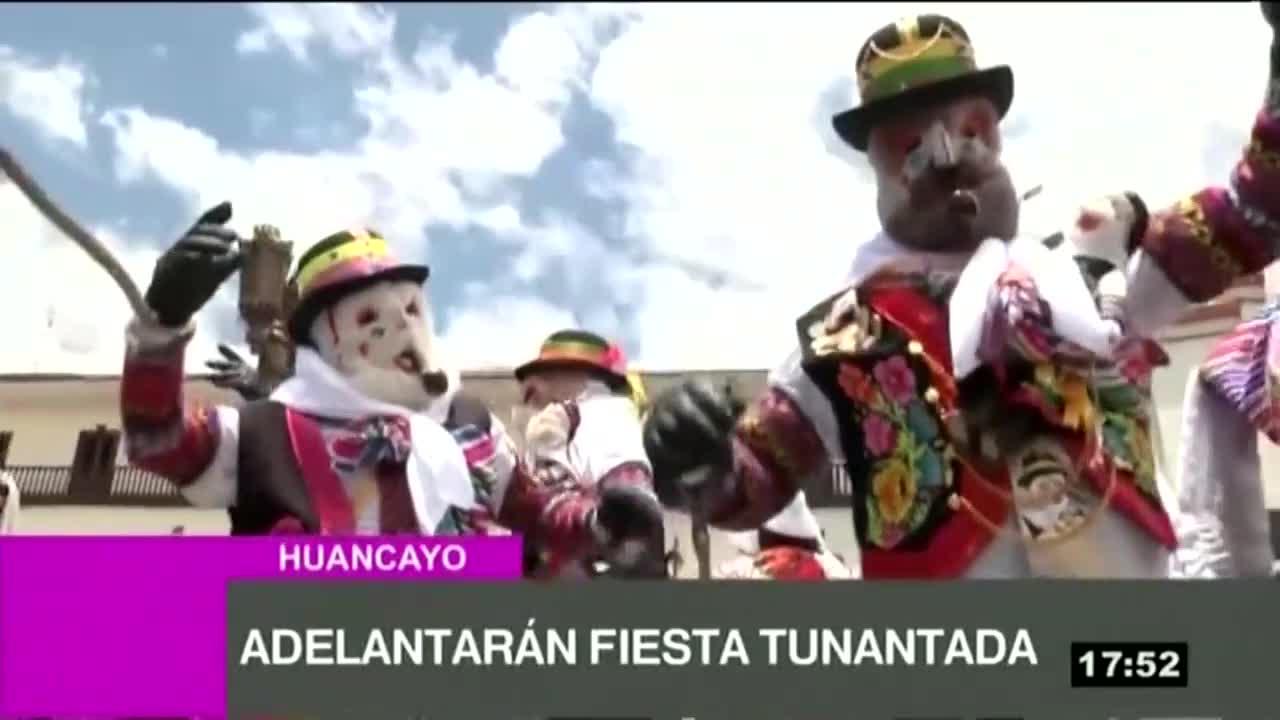 Jauja adelantará la Fiesta Tunantada por elecciones congresales
