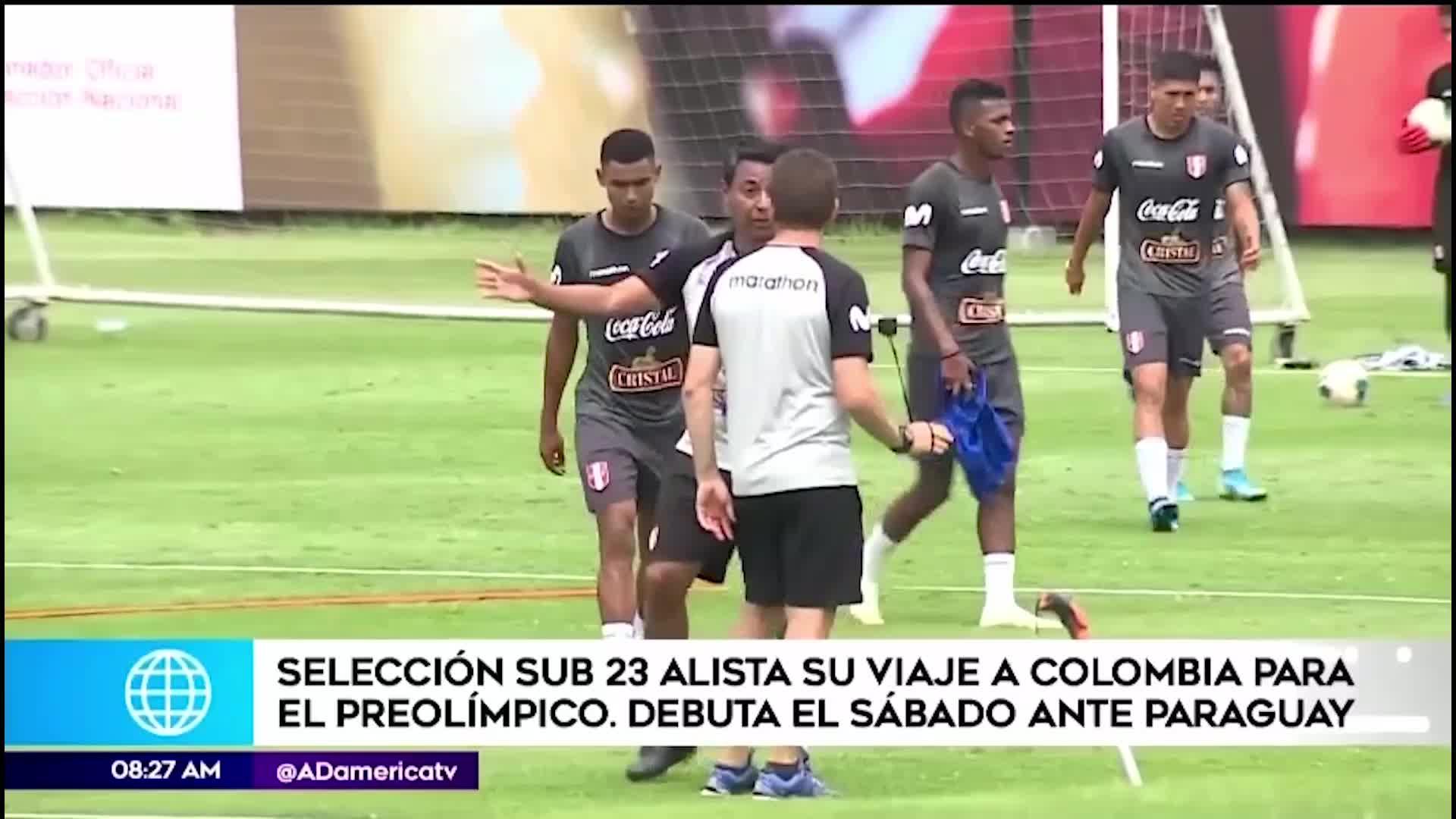 Selección peruana sub 23 se encuentra lista para su debut en el Preolímpico