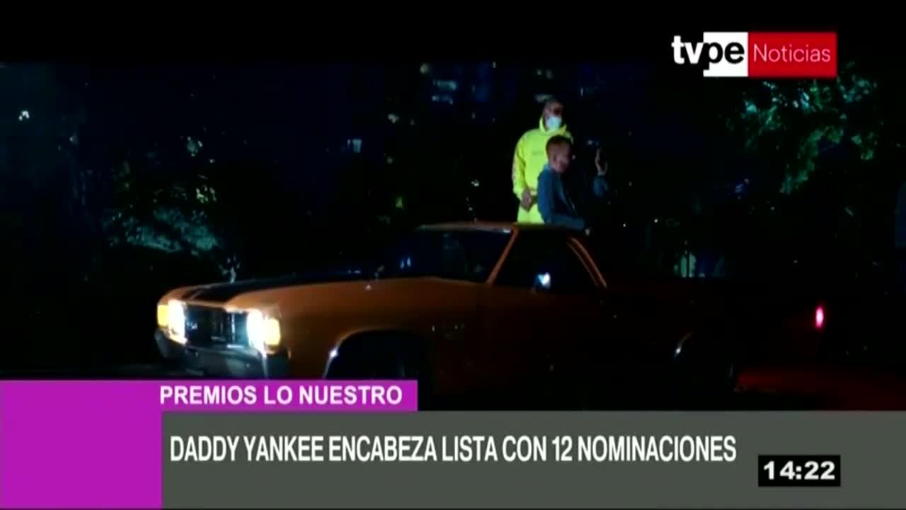 """Daddy Yankey lidera """"Premios Lo Nuestro"""" con 12 nominaciones"""