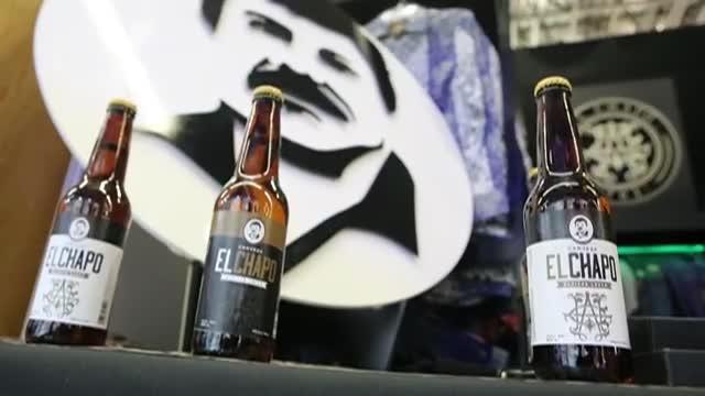 Lanzan una cerveza con la imagen del Chapo Guzmán