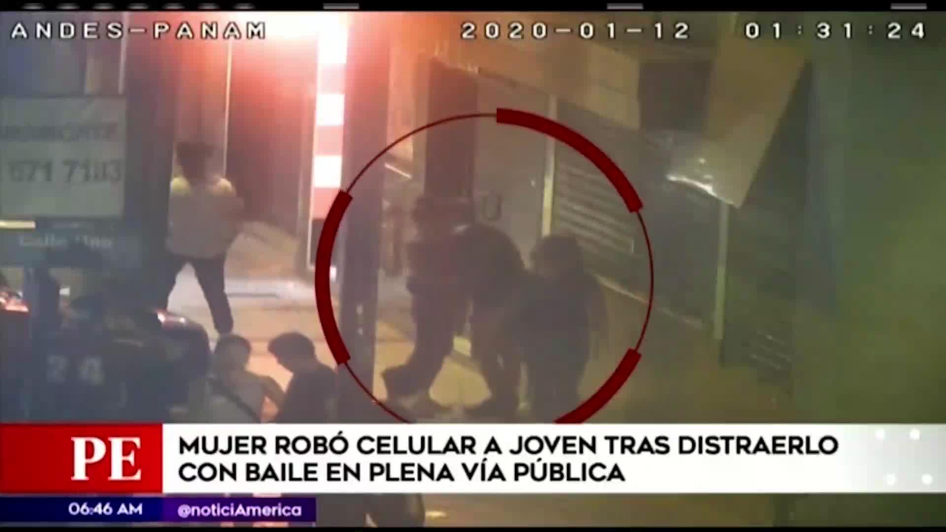 Independencia: mujer robó celular a joven tras distraerlo con baile