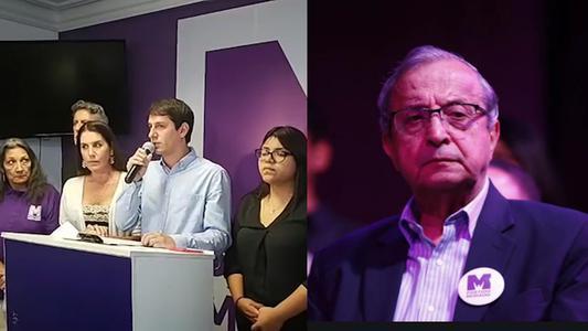 """Partido Morado: """"Invocamos al JNE a aceptar renuncia de Daniel Mora e iniciar su exclusión del proceso electoral"""""""