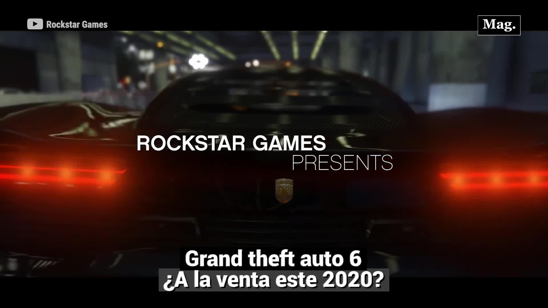 GTA VI llegaría el 2020 según posible filtración