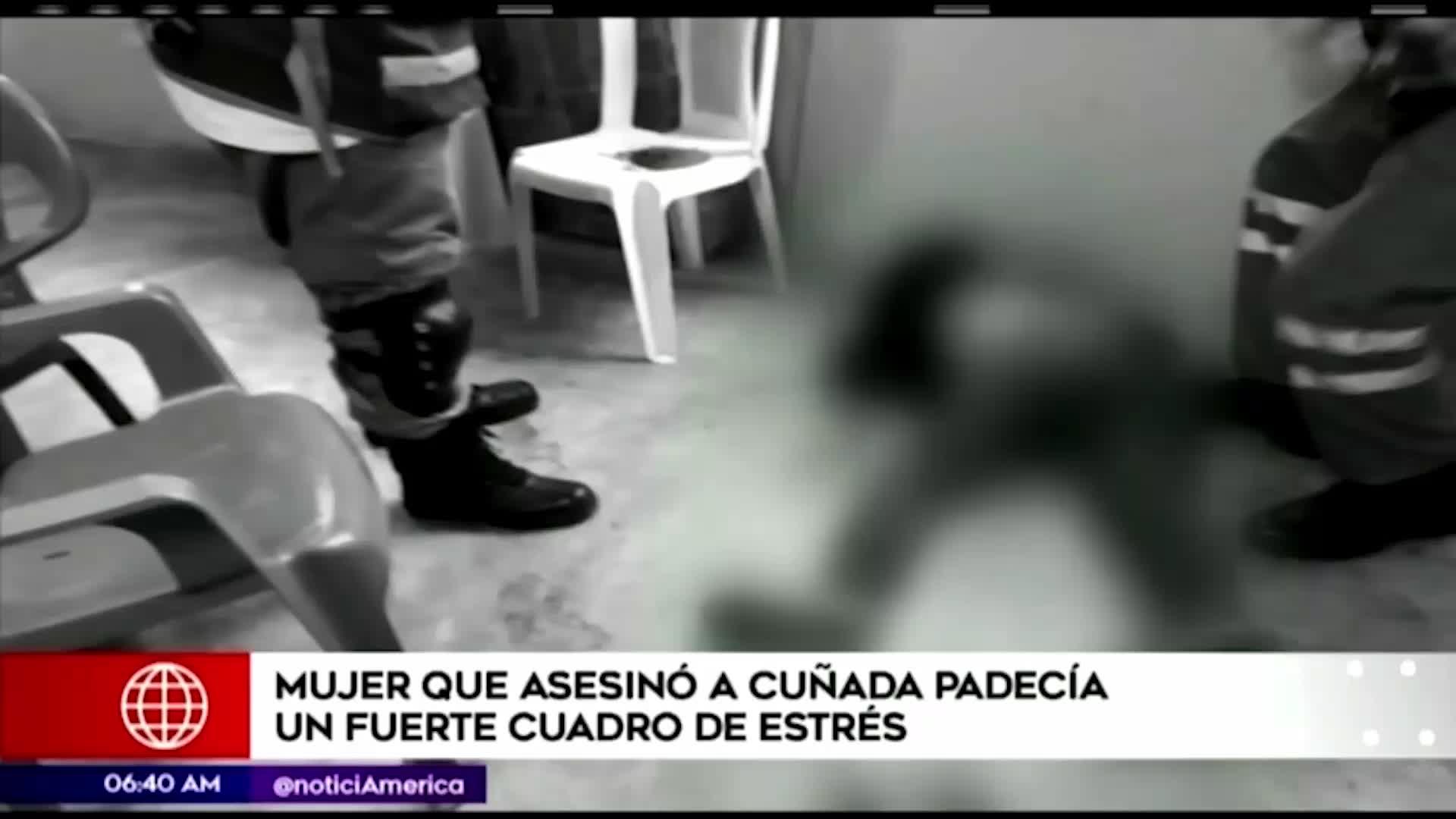 Independencia: mujer que asesinó a su cuñada tenía grave cuadro de estrés