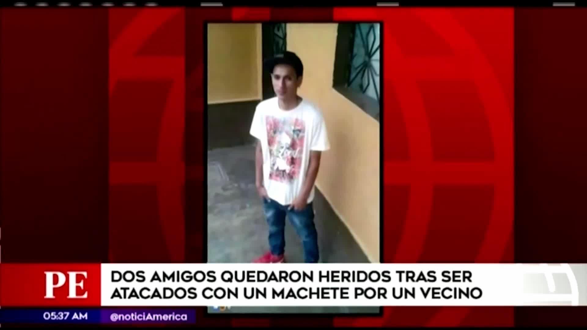 Chorrillos: hombre atacó a vecinos con machete