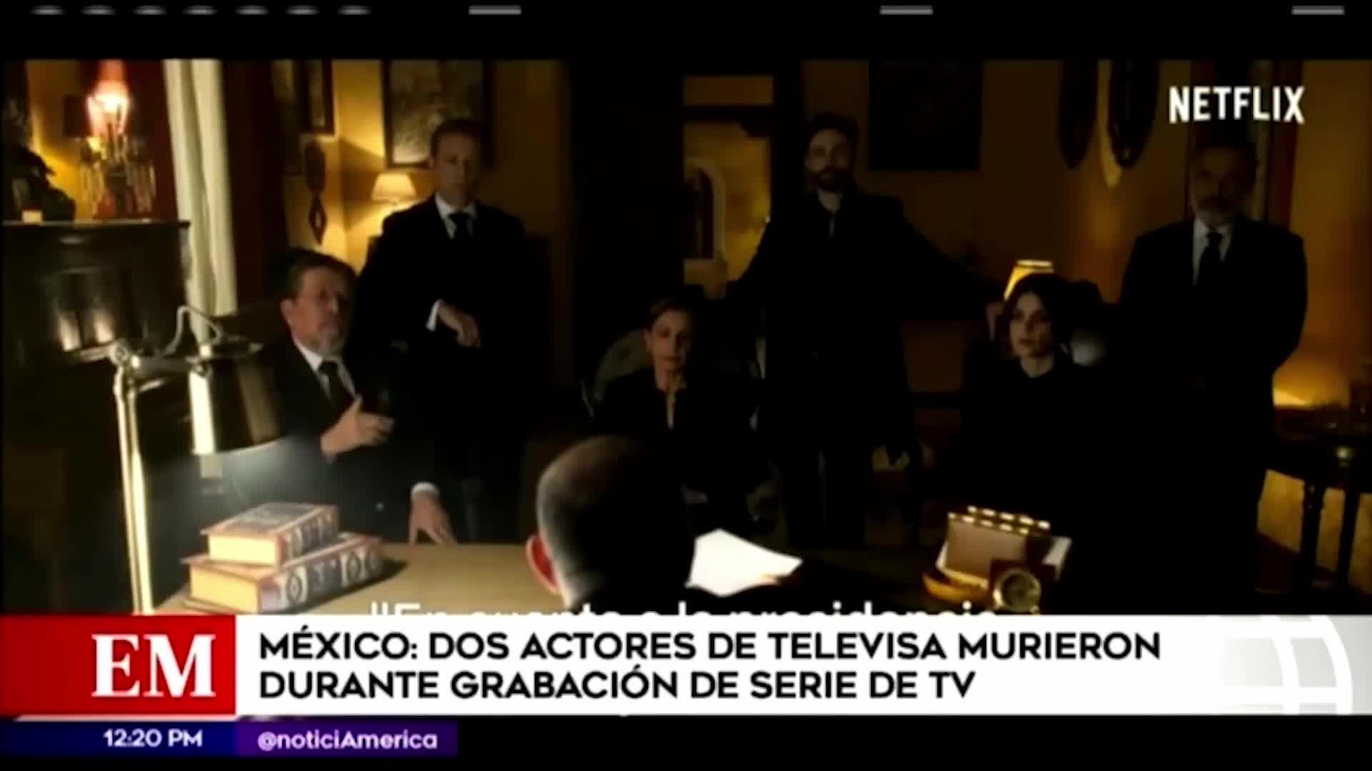 """""""Sin miedo a la verdad"""": actores mueren durante ensayo"""