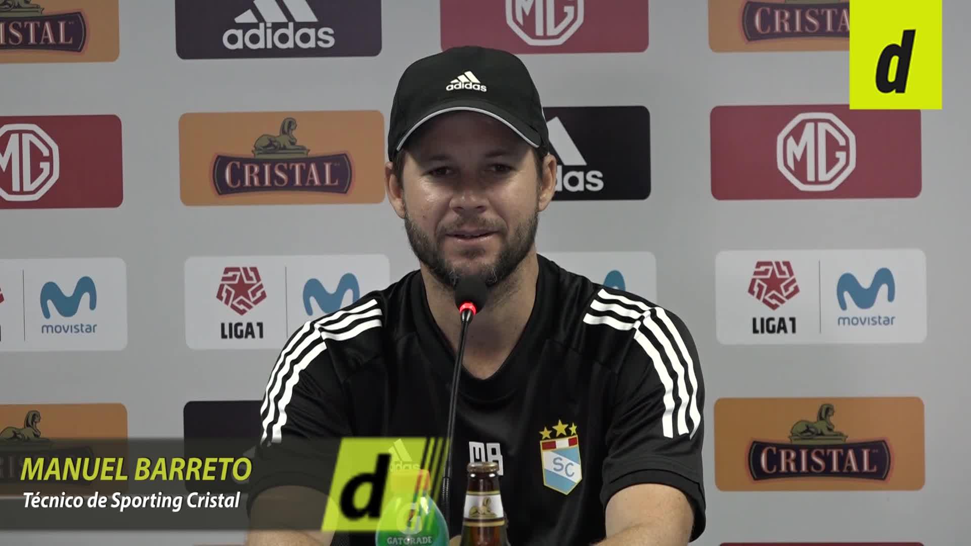 Manuel Barreto opina sobre la posible llegada de refuerzos a Sporting Cristal