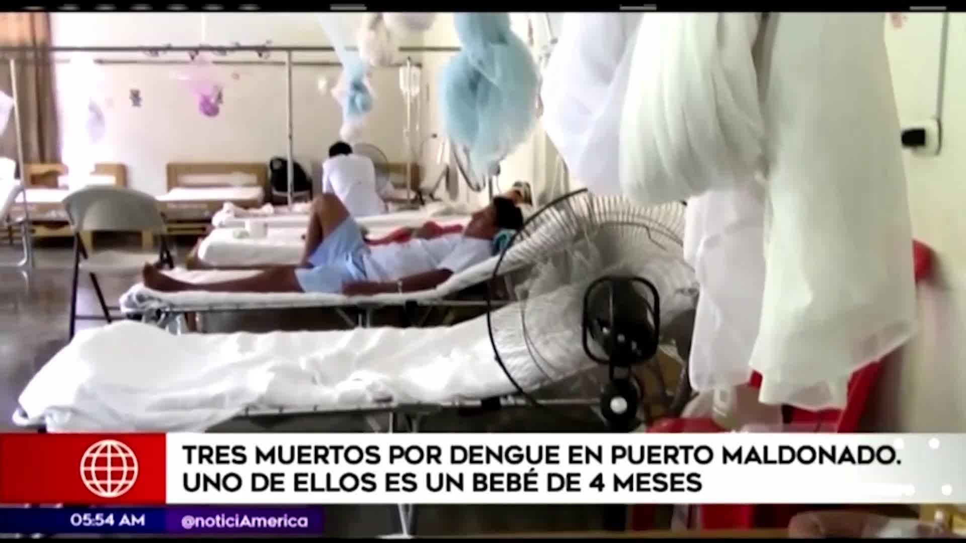 Puerto Maldonado: bebé de cuatro meses falleció por dengue