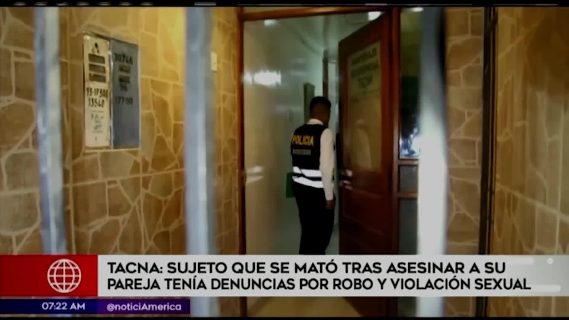 Pareja es hallada muerta en un hospedaje de Tacna