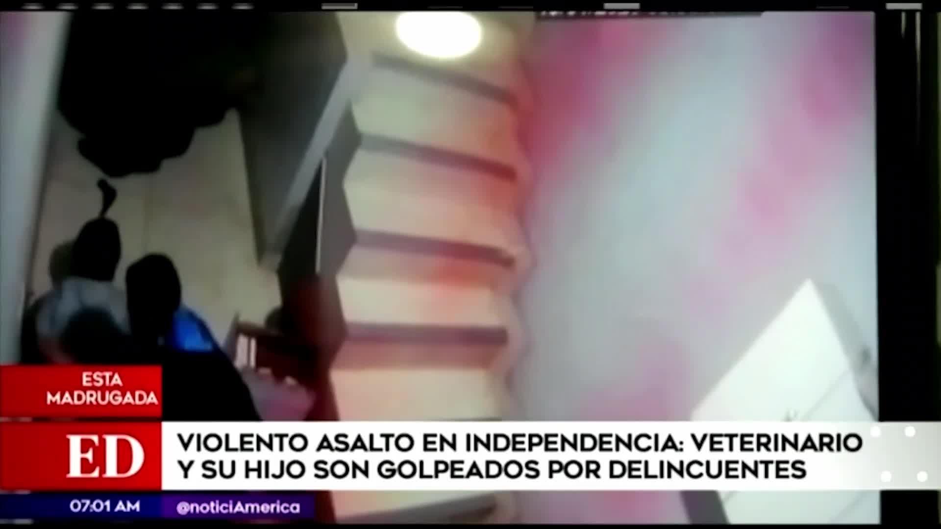 Independencia: delincuentes asaltan a veterinario e hijo en su vivienda