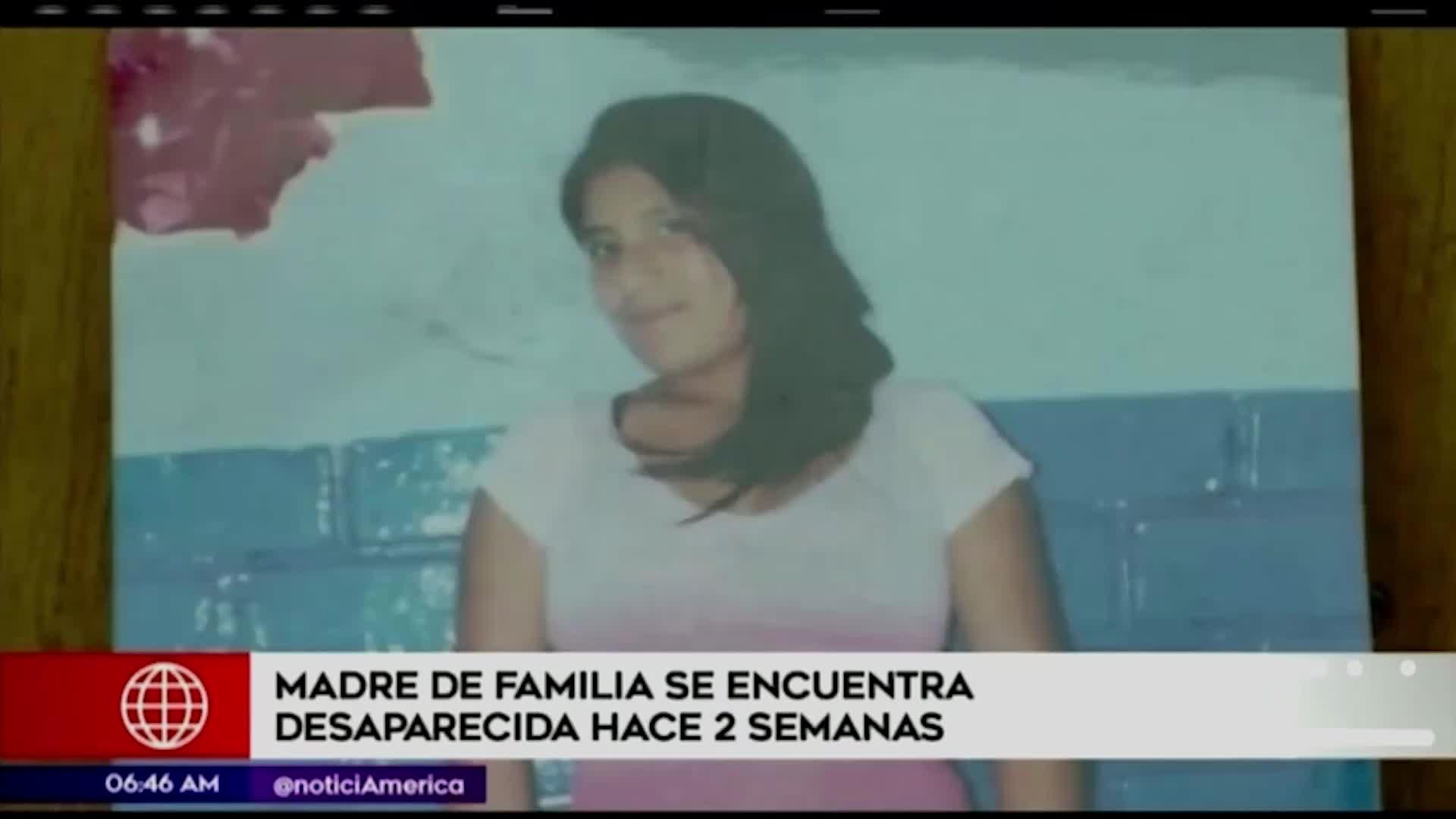 Mujer desapareció hace dos semanas en Ate Vitarte