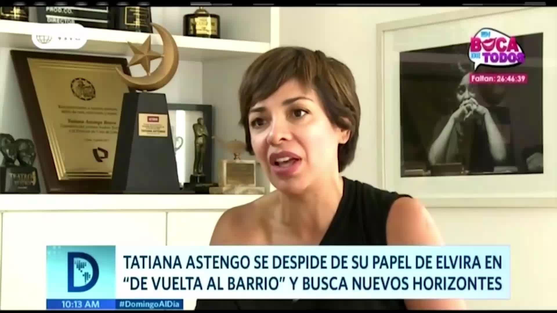Tatiana Astengo dio detalles sobre su salida en 'De vuelta al barrio'
