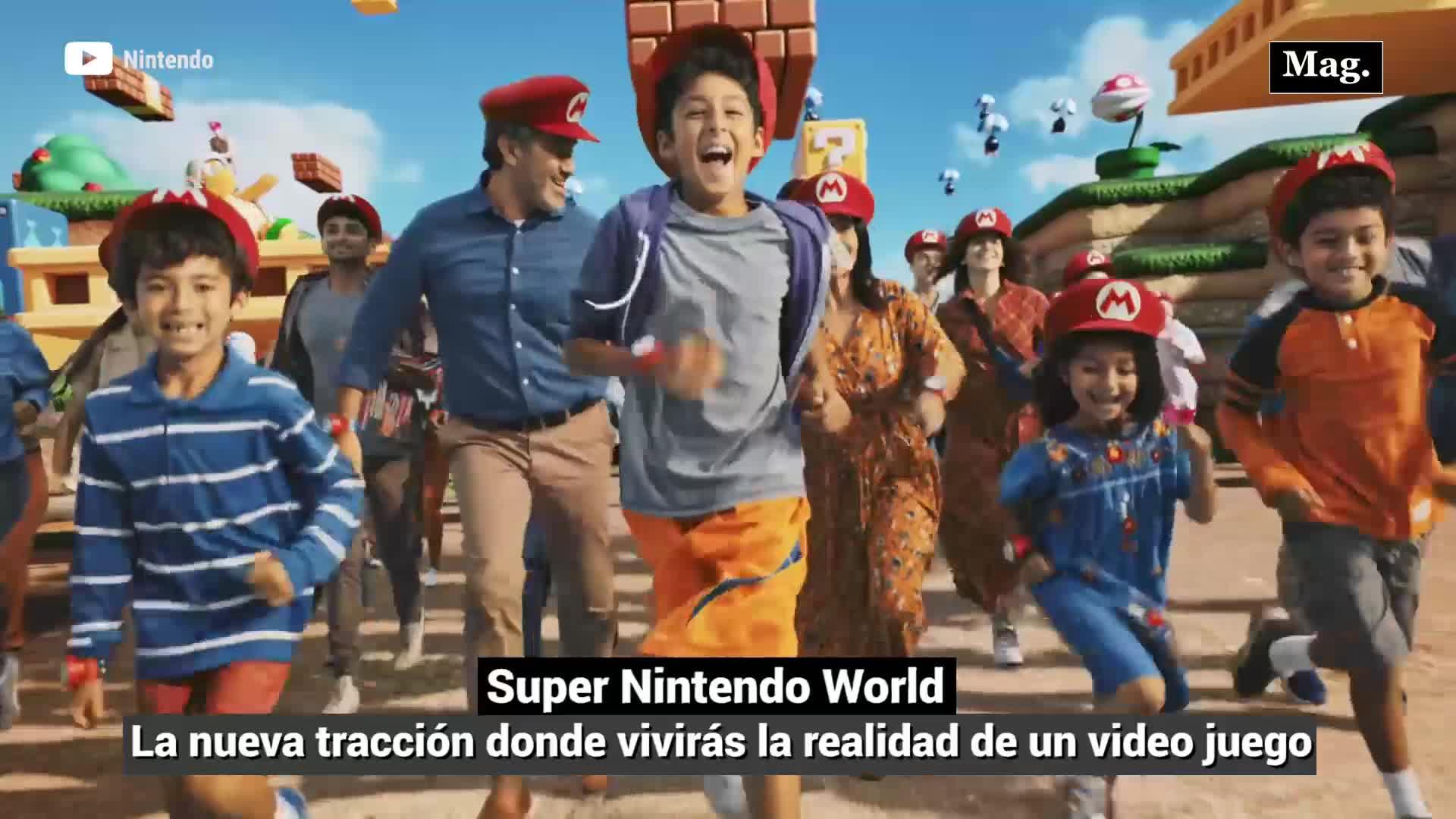 Super Nintendo World: Nintendo crea parque temático para jugar Super Mario en la vida real