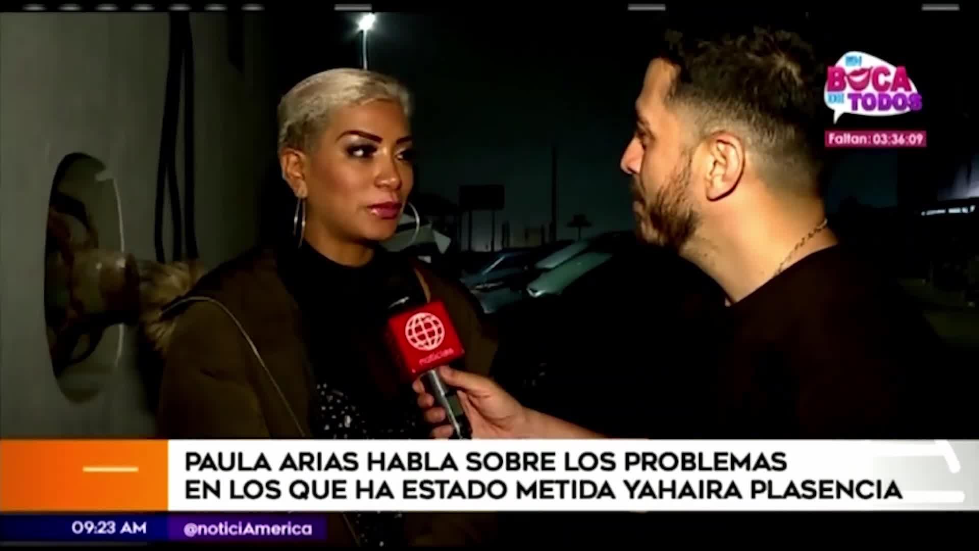 """Paula Arias: """"No me extrañó que Yahaira despida así a su jefa de prensa"""""""