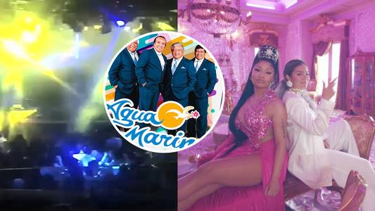 Karol G y Nicky Minaj: Mezclan 'Tusa' con 'Amor Sincero' de Agua Marina en discoteca y hacen bailar a todos