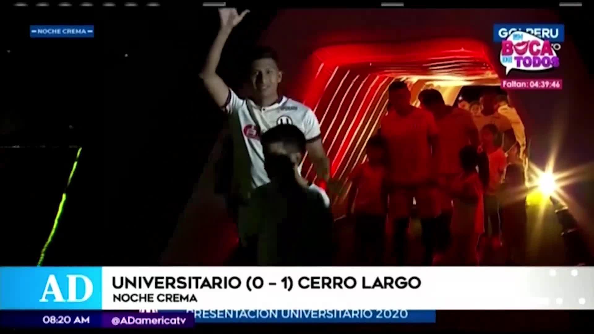 Universitario: así se vivió la 'Noche Crema 2020' en el Estadio Monumental