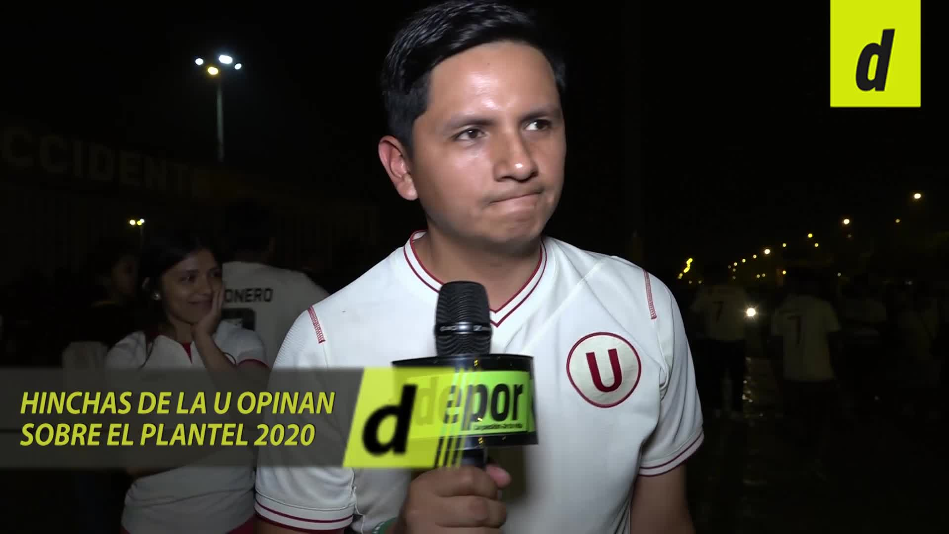 La reacción de los hinchas de Universitario tras la derrota en la Noche Crema