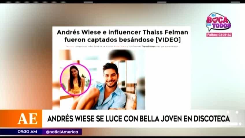Erick Elera y su divertida reacción tras ampay de Andrés Wiese