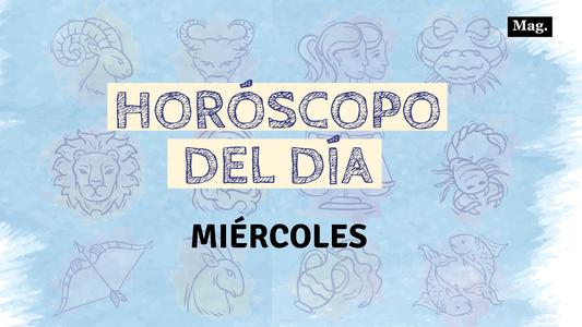 Horóscopo: Conoce qué te deparan los astros hoy miércoles 22 de enero