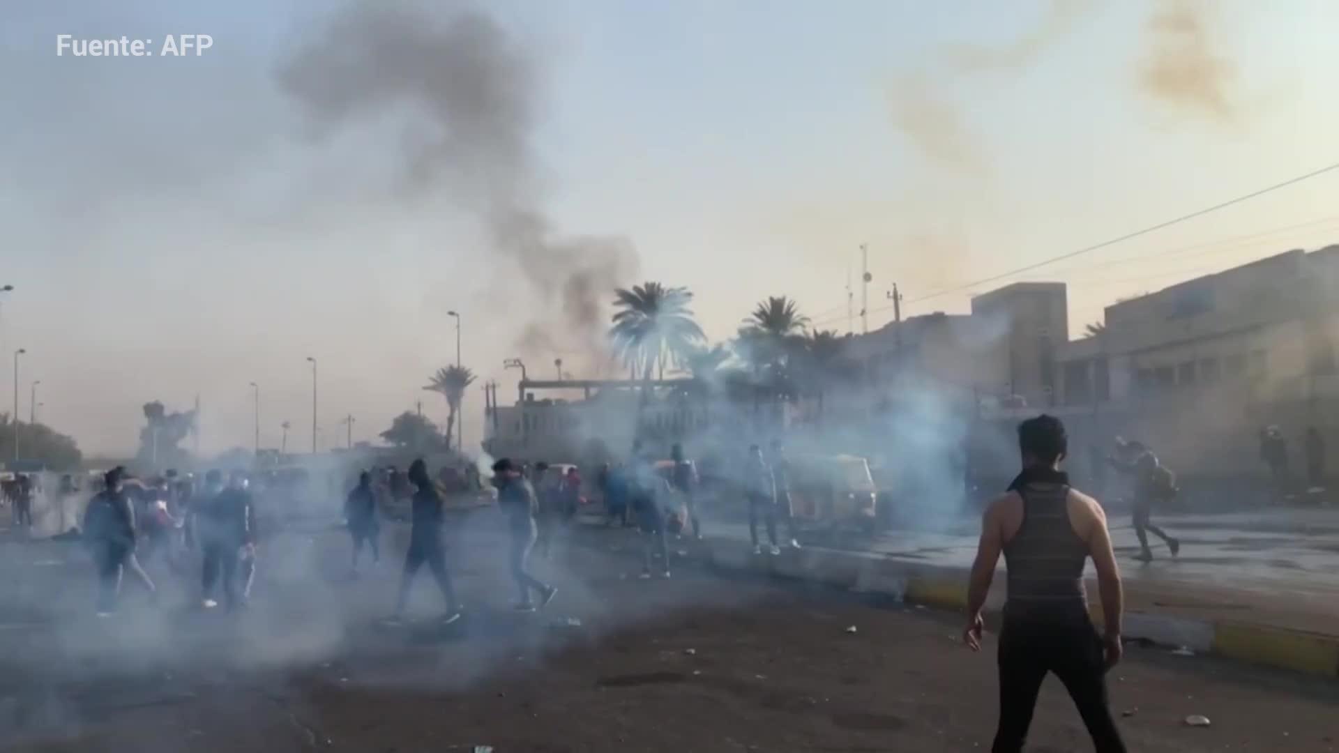 Los manifestantes reactivan sus protestas en Irak y exigen respuestas
