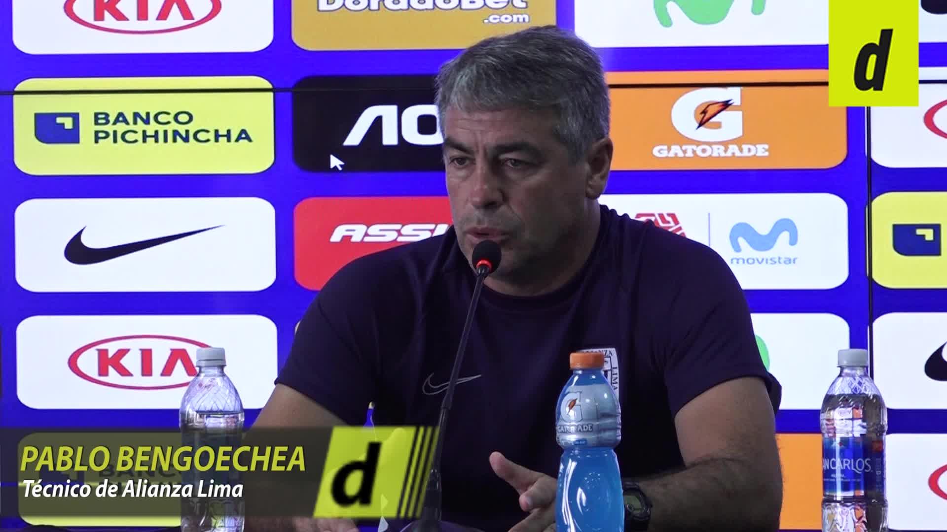 Pablo Bengoechea opina sobre el buen estado físico de Alberto Rodríguez