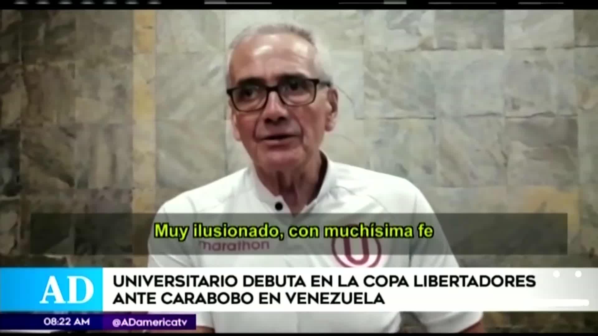 Universitario vs Carabobo: hoy juegan en Venezuela por la Copa Libertadores 2020