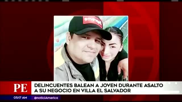 VES: delincuentes balean a empresario tras defender a su esposa en asalto