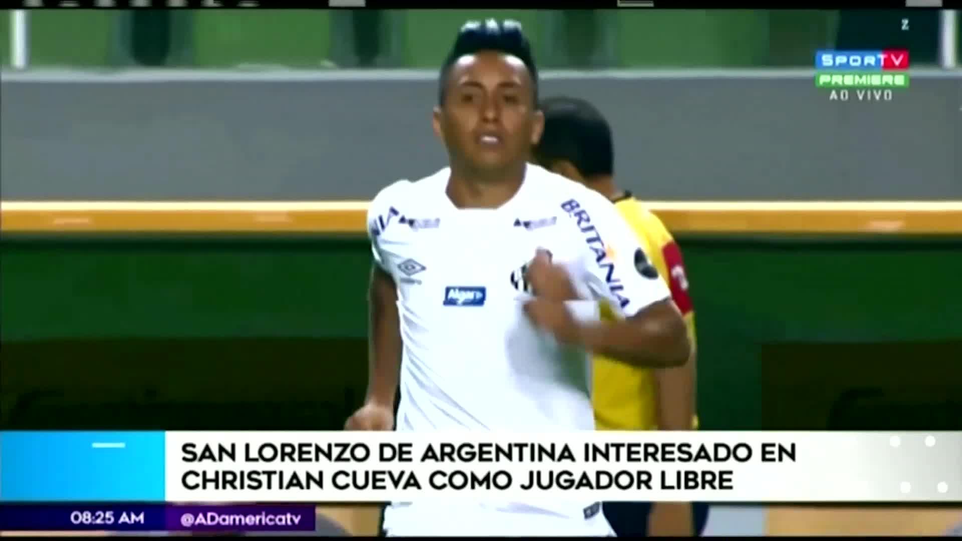 Christian Cueva podría llegar como jugador libre a San Lorenzo de Argentina