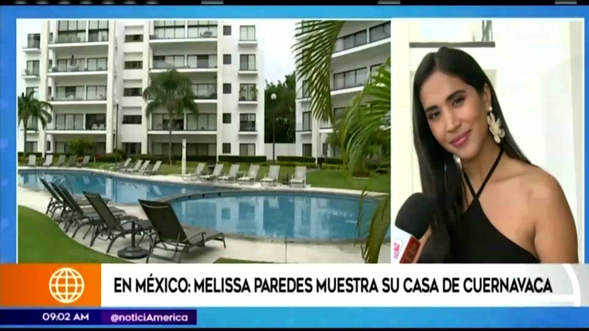 Melissa Paredes muestra su nueva casa en México