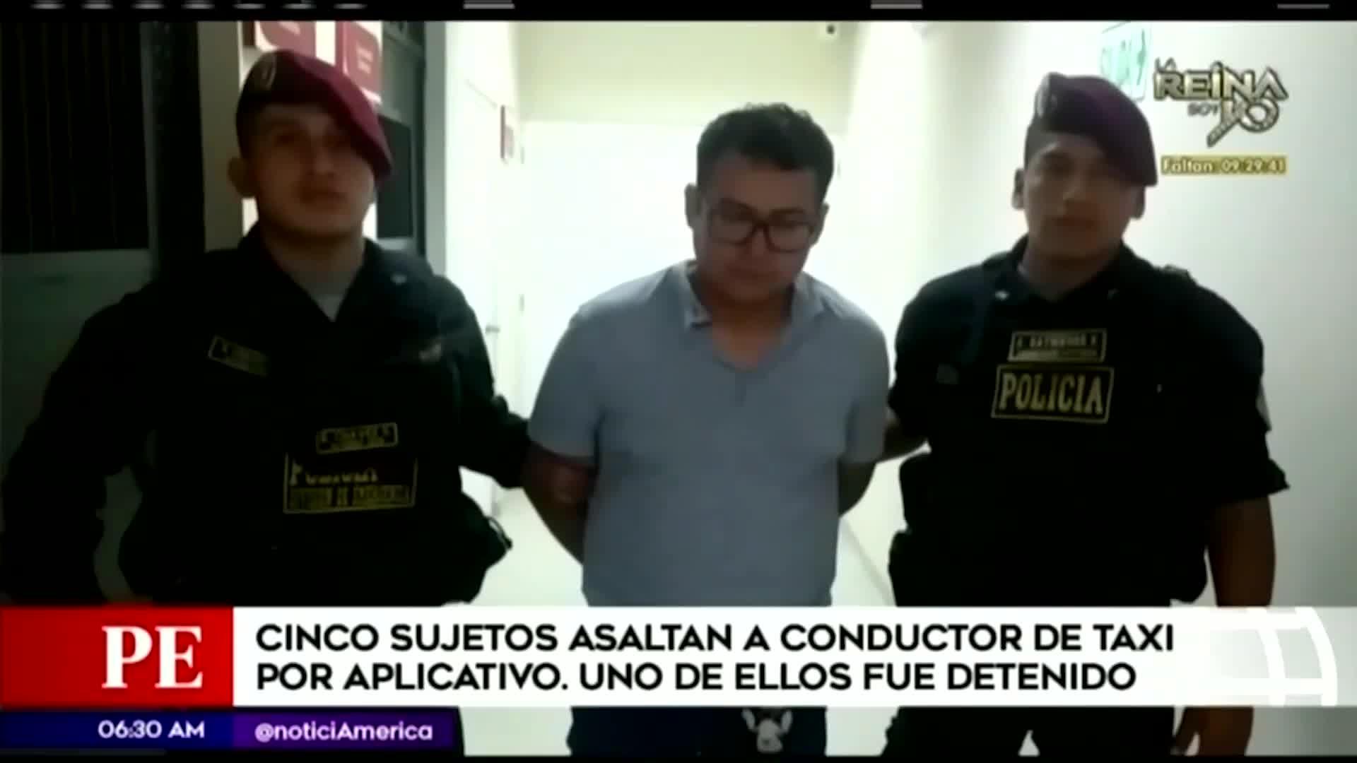 La Victoria: taxista por aplicativo es asaltado por cinco delincuentes