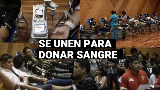 Policías, bomberos y civiles se unen para donar sangre tras incendio en Villa El Salvador