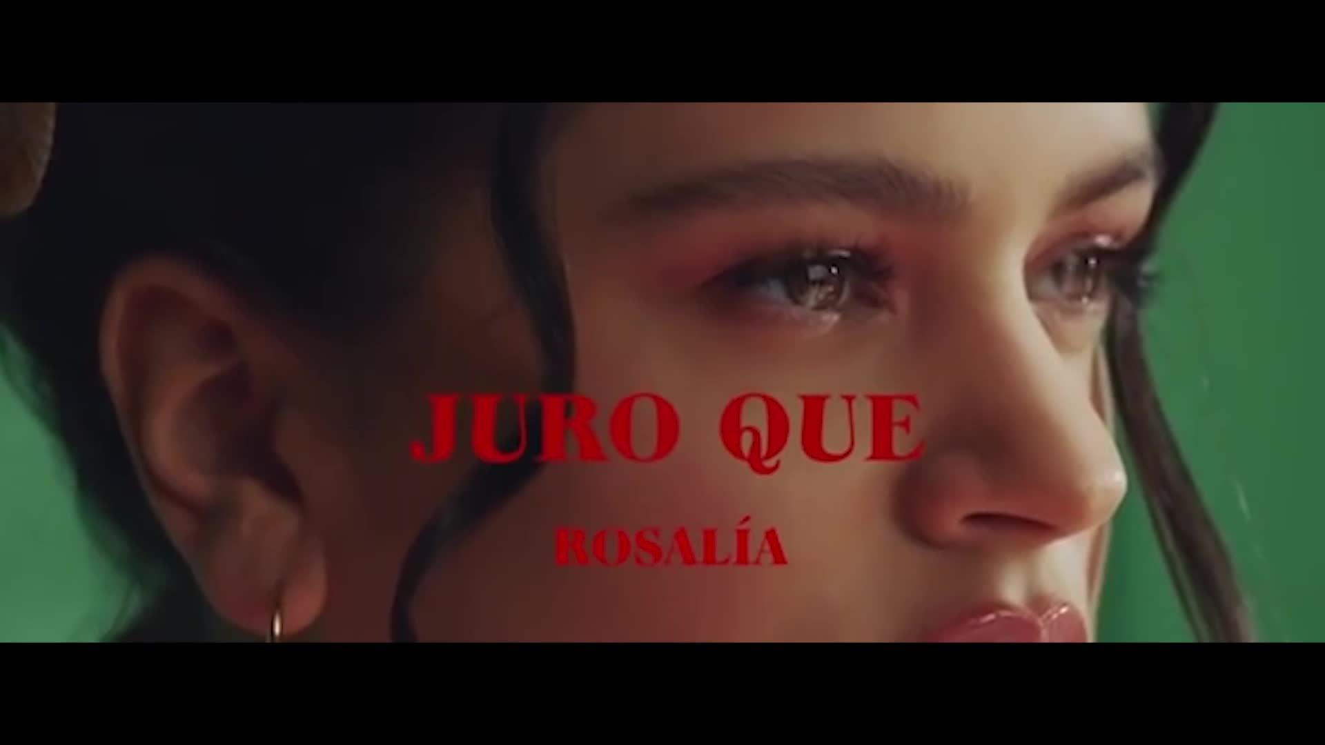 'Juro que' la nueva canción de Rosalía, con el actor Omar Ayuso en el videoclip