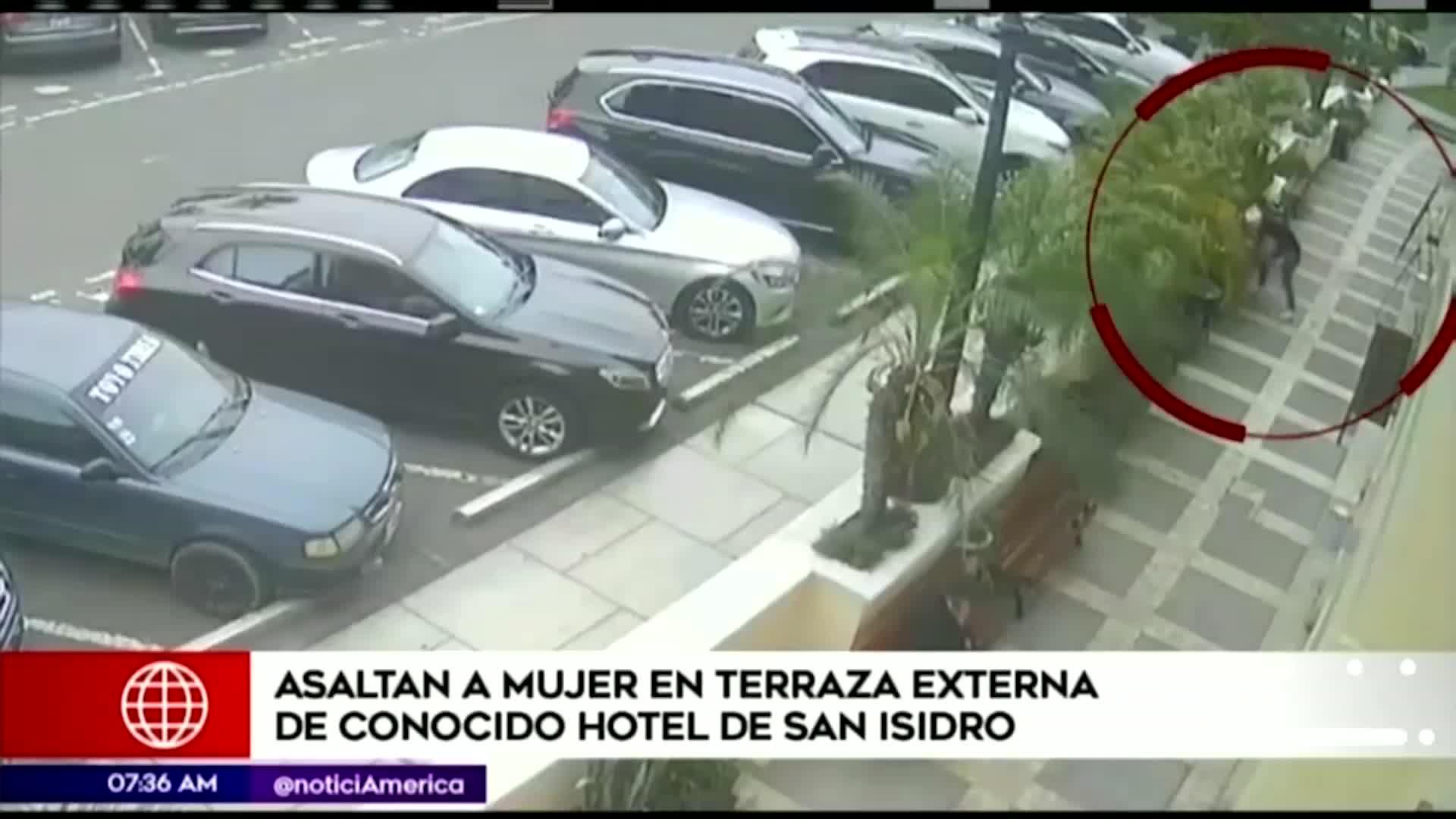 San Isidro: mujer sufrió robo en terraza externa de exclusivo hotel