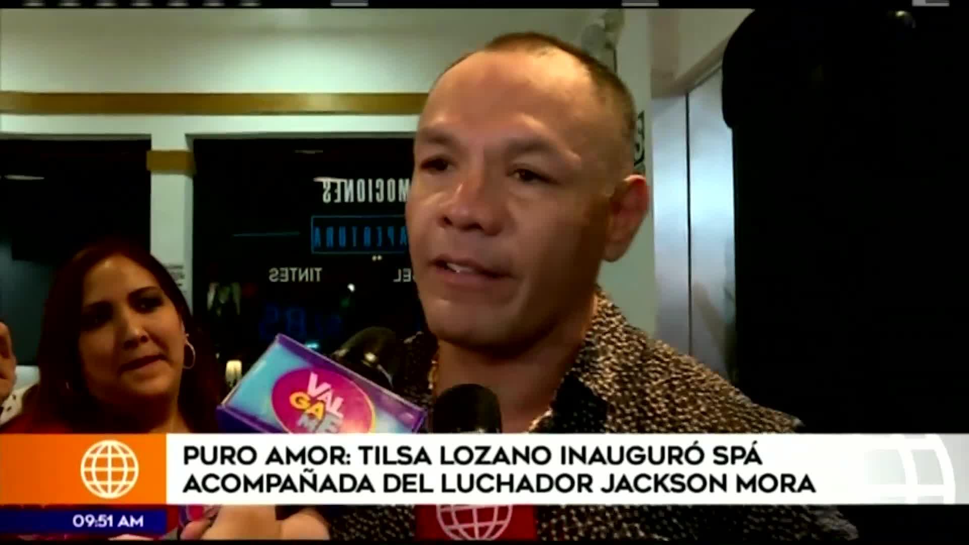 Tilsa Lozano: Jackson Mora revela detalles de su romance con la empresaria