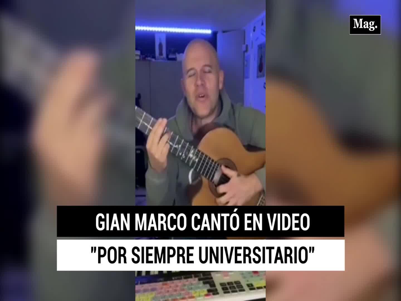 Universitario de deportes: esta es la canción completa que Gian Marco le compuso