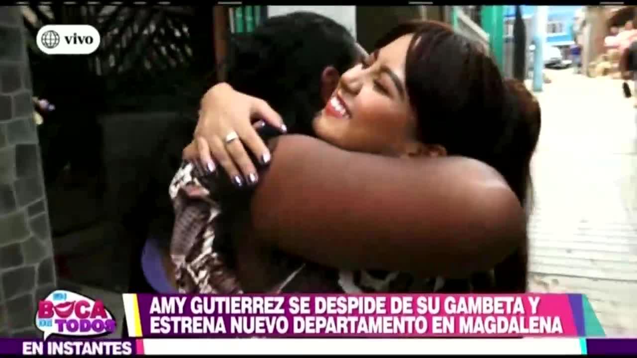 EBT: Amy G se despide de su querido Gambeta para mudarse a su nuevo departamento