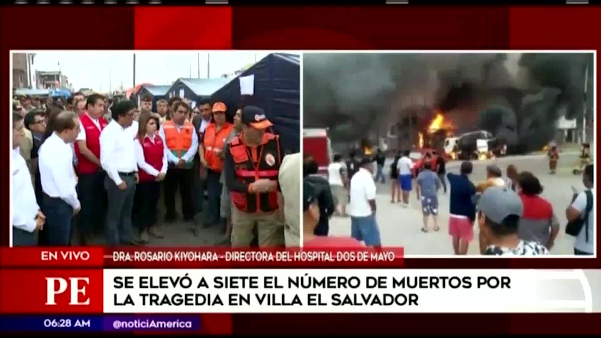 Tragedia en VES: se aumentó a siete la cifra de personas fallecidas tras la explosión