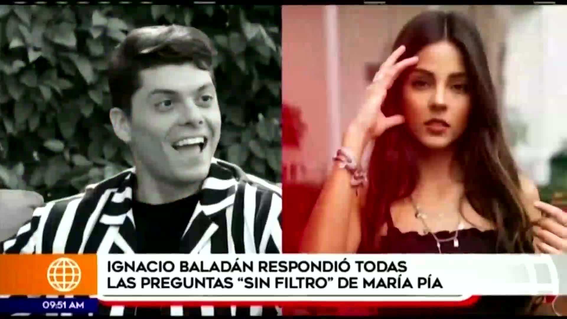 Ignacio Baladán sorprendió con tierna declaración sobre Luciana Fuster