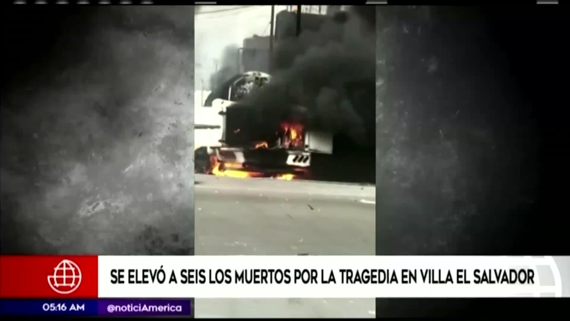 Tragedia en VES: se aumentó a seis la cifra de personas fallecidas tras la explosión
