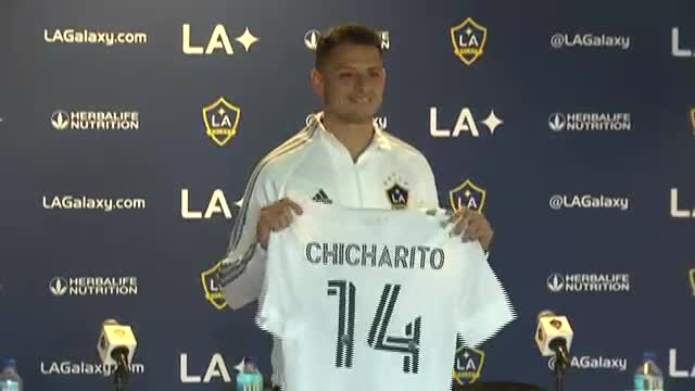 """Chicharito"" Hernández fichó por Los Angeles Galaxy de la MLS"