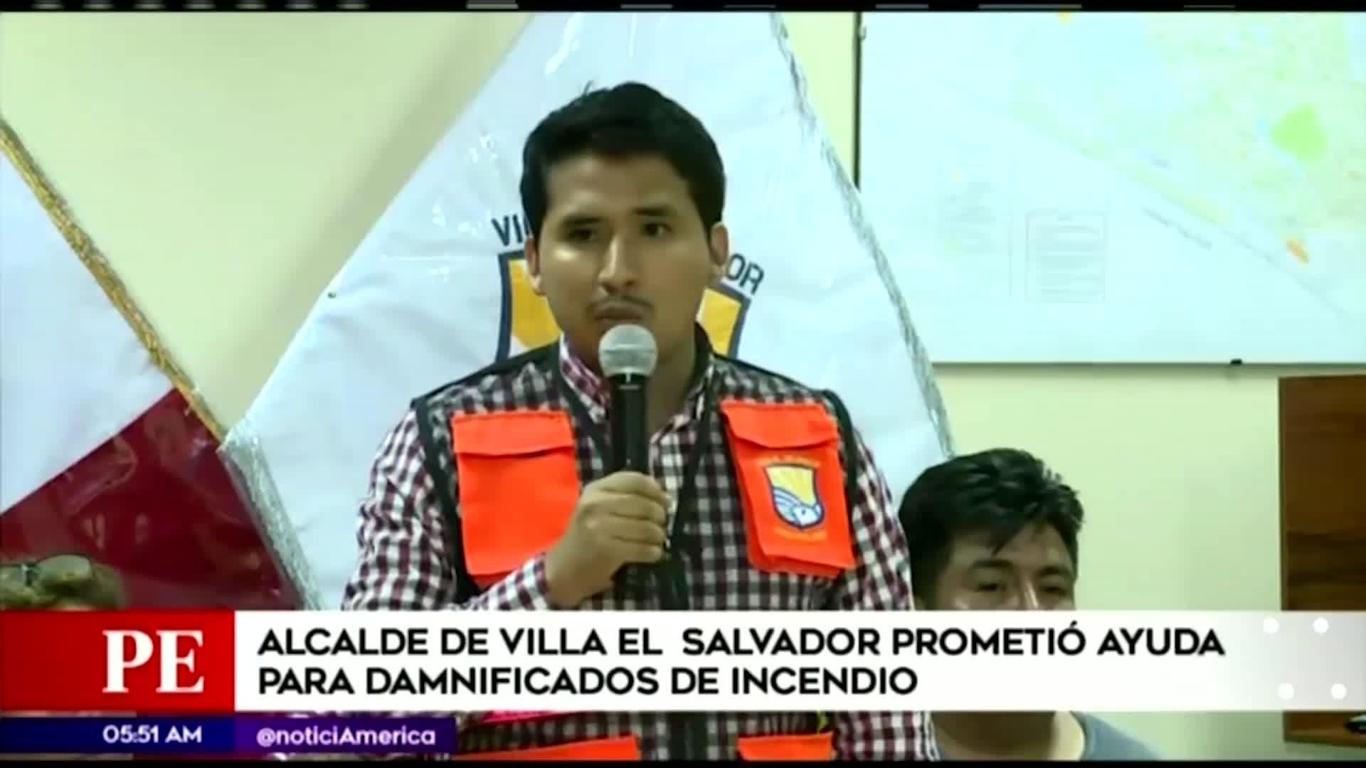 Tragedia en VES: alcalde del distrito destinará 200 mil soles a las familias afectadas
