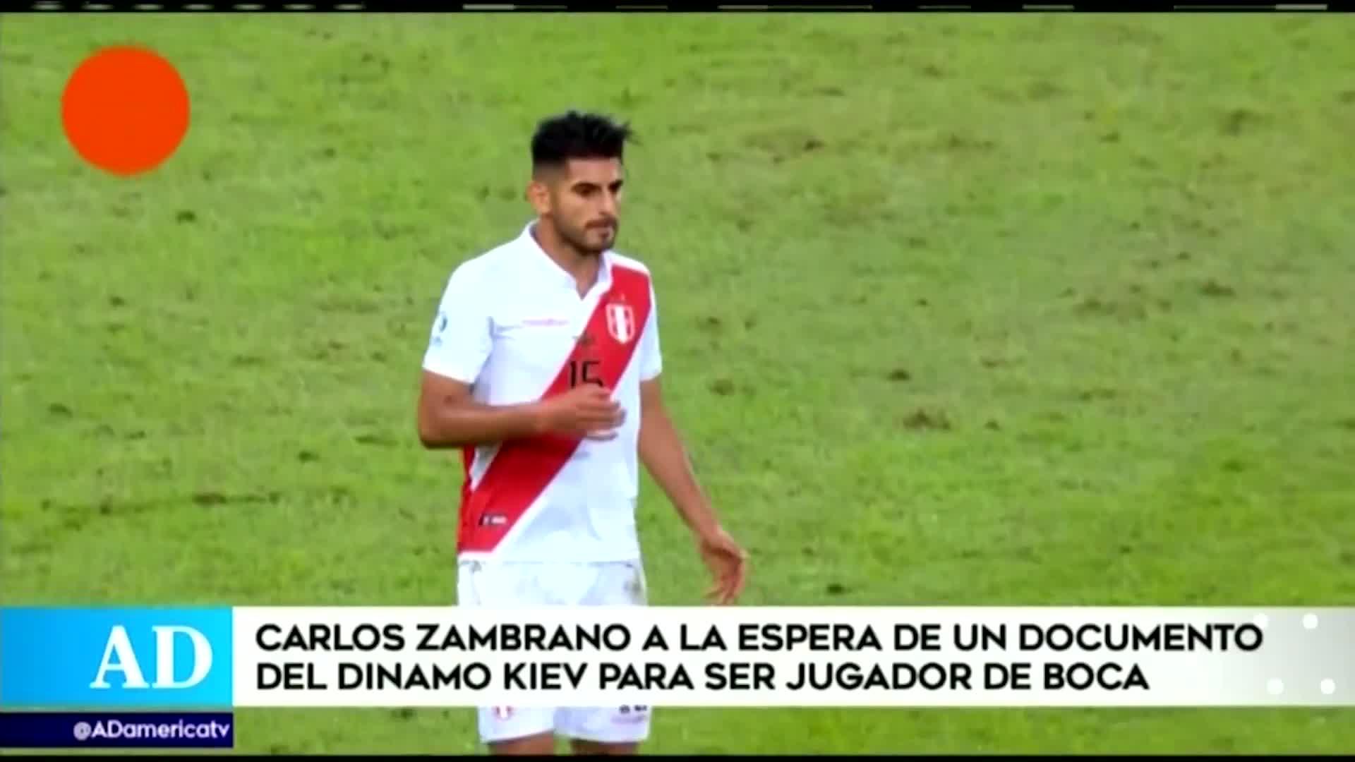 Carlos Zambrano a la espera de un documento para ser nuevo jugador de Boca Juniors