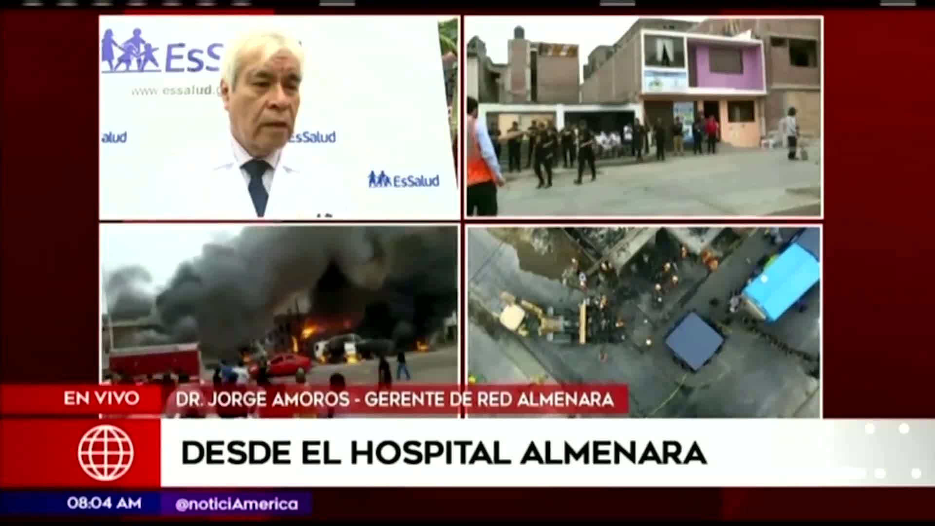 Tragedia en VES: se aumentó a ocho la cifra de personas fallecidas tras la explosión