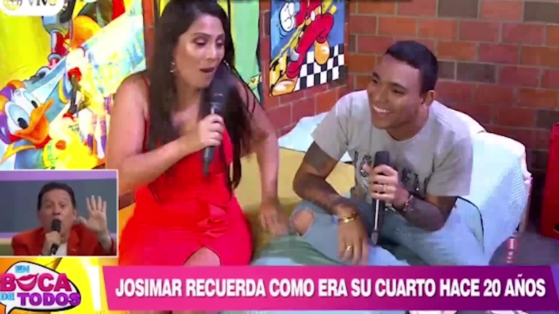 Josimar confesó que tenía un póster de Tula Rodríguez en su habitación