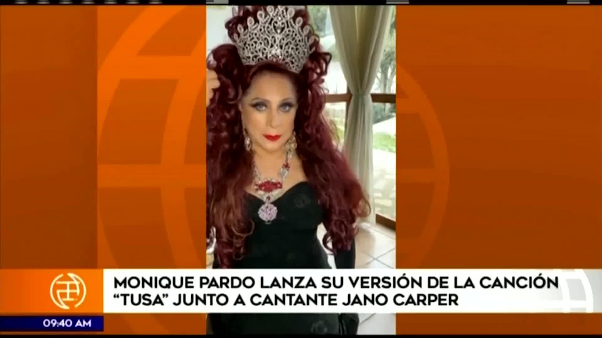 Monique Pardo sorprende con 'Trusa', una nueva versión de 'Tusa'